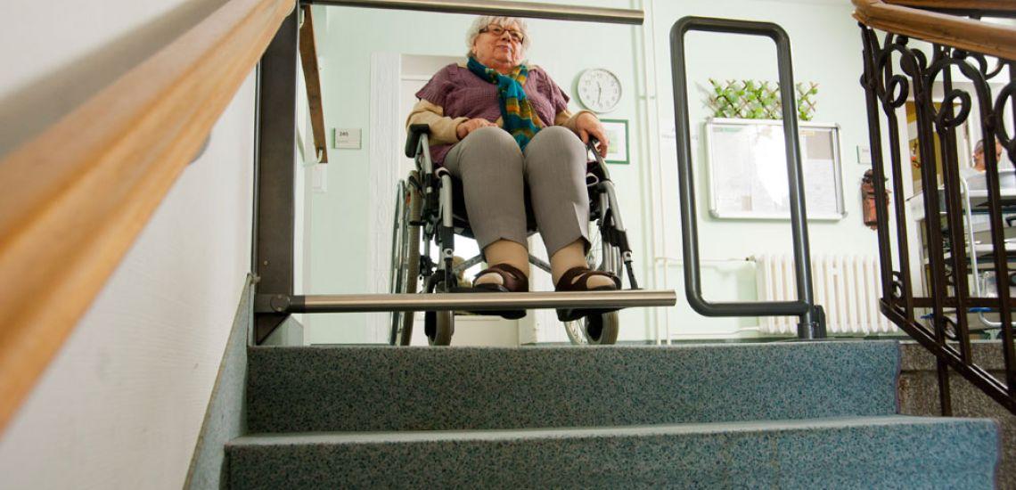 Barrera de seguridad para escaleras - Barreras seguridad escaleras ...